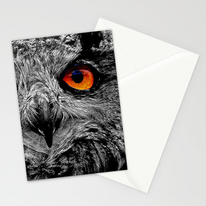 YOU'RE THE ORANGE OF MY EYES Stationery Cards