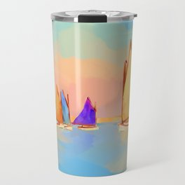 Rainbow Fleet Travel Mug