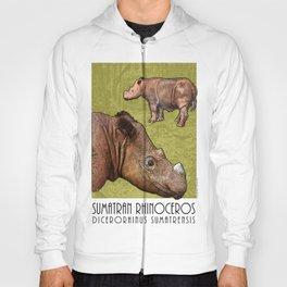 Sumatran Rhinoceros Hoody