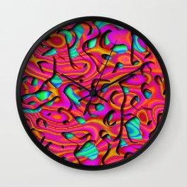 Candyfloss Noodles Wall Clock