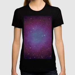 Space scenery T-shirt