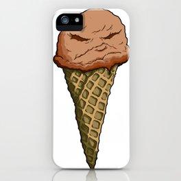 Chocolate Not-Nice Cream iPhone Case