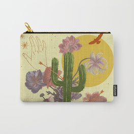 SPACE TIME DESERT Carry-All Pouch