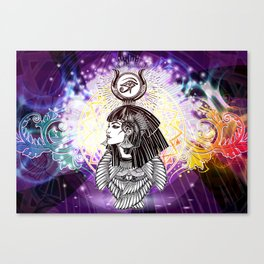 Goddess Isis and the Reigning Light Canvas Print