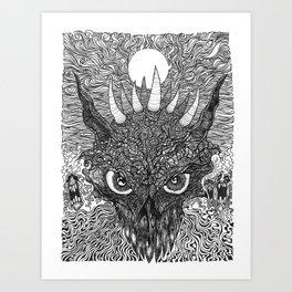 demondevildragon Art Print