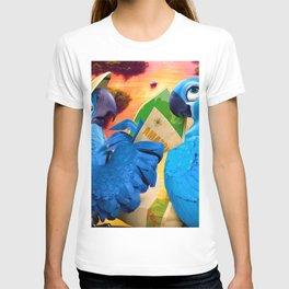 Wild Parrots Trip T-shirt