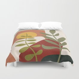 Two Abstract Branches Duvet Cover