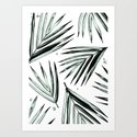 Palm Leaves Pattern #2 by chantarell