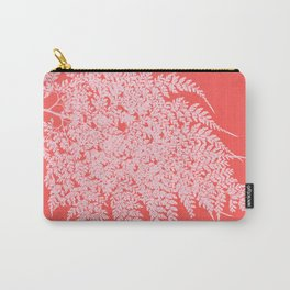 Pretty in Pink Fern Carry-All Pouch