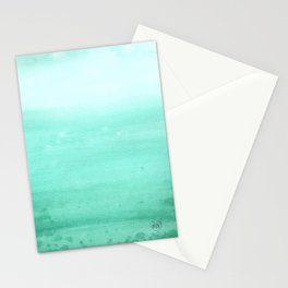 Ombre Robins Egg Stationery Cards
