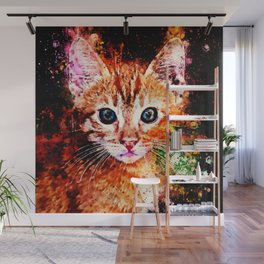 cat years wsstd Wall Mural