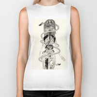 biology Biker Tanks featuring Soul Biology  by Ursula Hart