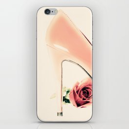 Pink Heel (Retro and Vintage Still Life Photography) iPhone Skin