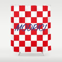 Lukas Modric number one Shower Curtain