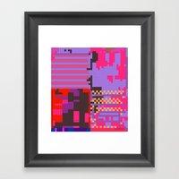 taintedcanvas54 Framed Art Print