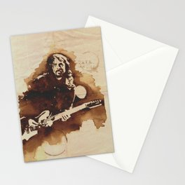 Dave Grohl Ilustracafe Stationery Cards
