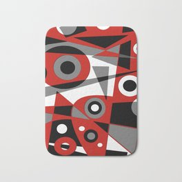 Abstract #908 Bath Mat
