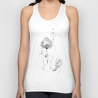 ballon Tank Tops featuring Monsieur Grant et le ballon fou by MARIE.MARYE