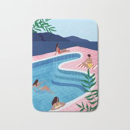 Pool ladies Bath Mat