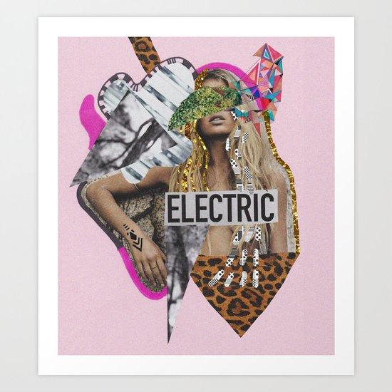 ELECTRIC FANTA-SIA  Art Print