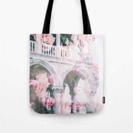Floral In Venice Tote Bag