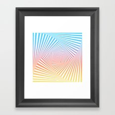 Bakana Summer Twista  Framed Art Print