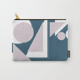 Geometric Shapes Abstract Carry-All Pouch