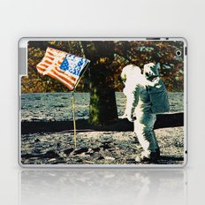 the first man under a tree Laptop & iPad Skin