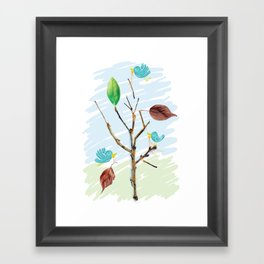 Rebuild Framed Art Print