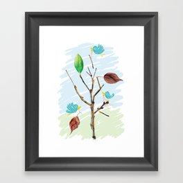 Rebuild Framed Art Print