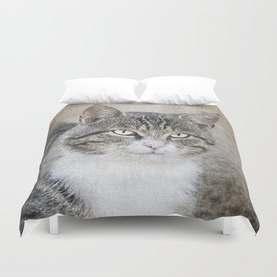 Mr. Cat Duvet Cover