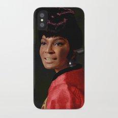 Uhura iPhone X Slim Case