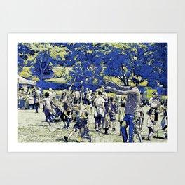 Summer Fun - Festive Event Art Print