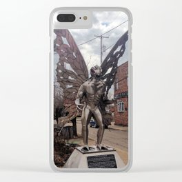 Point Pleasant Mothman Clear iPhone Case