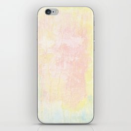 Pale pastel texture iPhone Skin