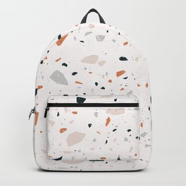 Terrazzo + Copper Backpack