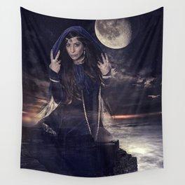 Dark Princess Goddess (Fantasy) Wall Tapestry