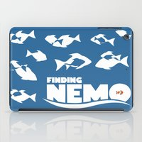 nemo iPad Cases featuring Finding Nemo by Citron Vert