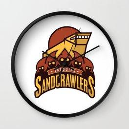 Tatooine SandCrawlers Wall Clock