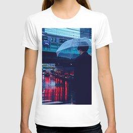 Tokyo Nights / Rain over Tokyo / Liam Wong T-shirt