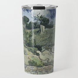 Thatched Cottages at Cordeville Travel Mug