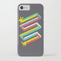 physics iPhone & iPod Cases featuring Physics doesn't apply to weiner dogs by Eleanor Lutz