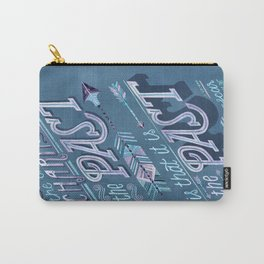 The Past is the Past Carry-All Pouch