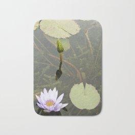 Blue Lotus Bud to Bloom Bath Mat