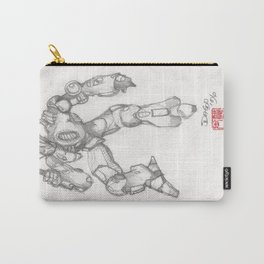 Mechanoid Carry-All Pouch