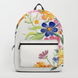 Loose Autumn Bouquet Backpack
