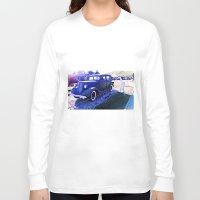 truck Long Sleeve T-shirts featuring Truck antique.  by Alejandra Triana Muñoz (Alejandra Sweet