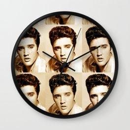 Elvis Presley - Music Heroes Series Wall Clock