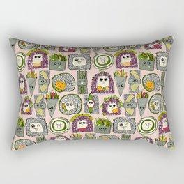 veggie sushi melba Rectangular Pillow