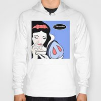 cocaine Hoodies featuring Snow White: Cocaine Attitude by Trash Apparel